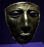 Roman mask at Teutoburg.